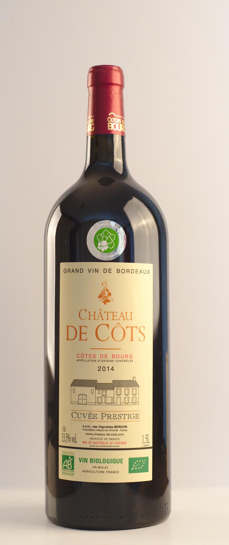 Magnum vin bio Côtes de Bourg