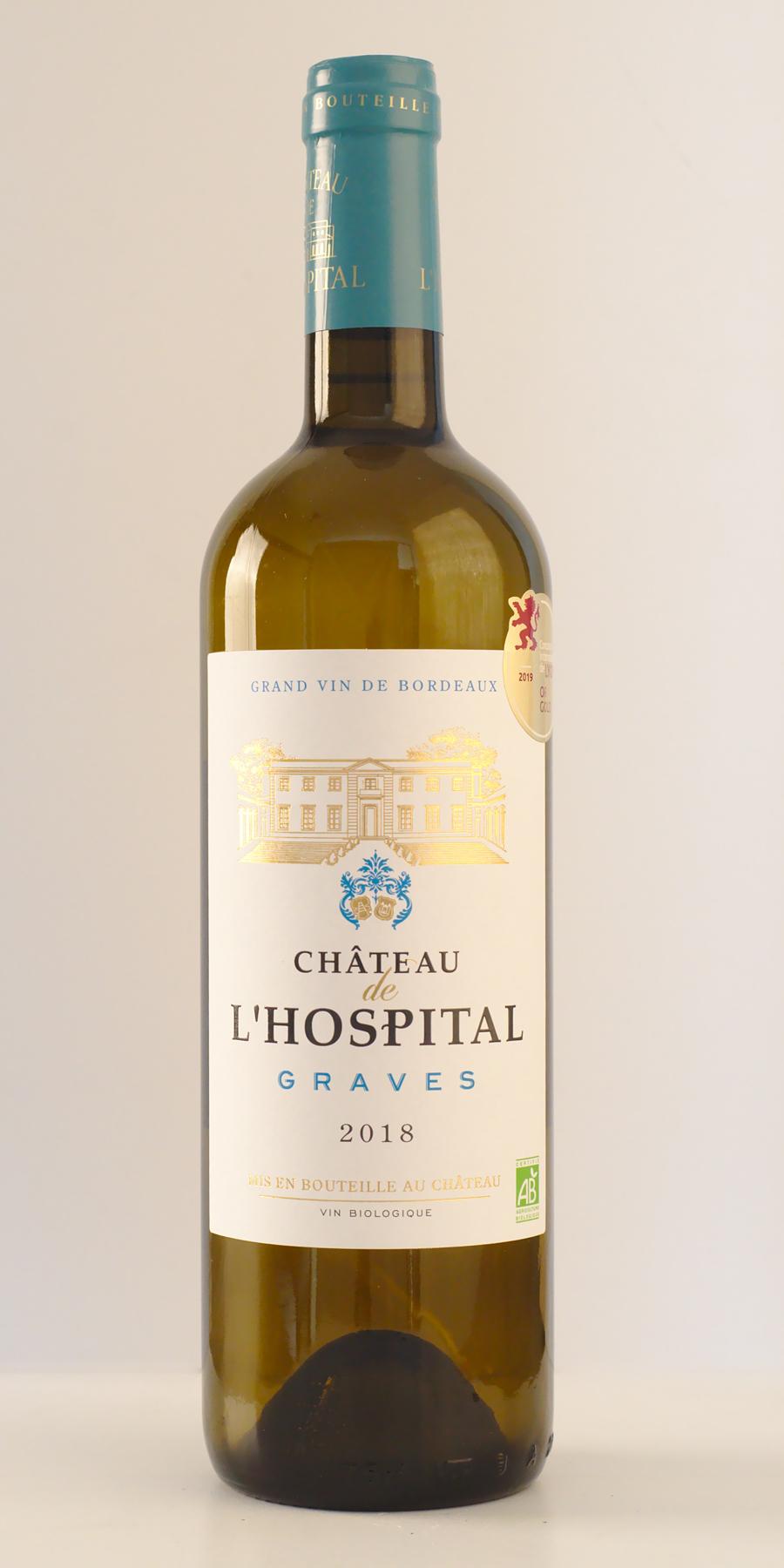 Vin bio graves blanc